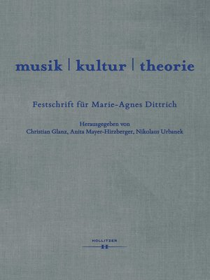 cover image of musik / kultur / theorie