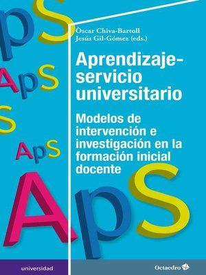 cover image of Aprendizaje-servicio universitario