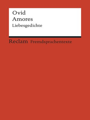 cover image of Amores / Liebesgedichte