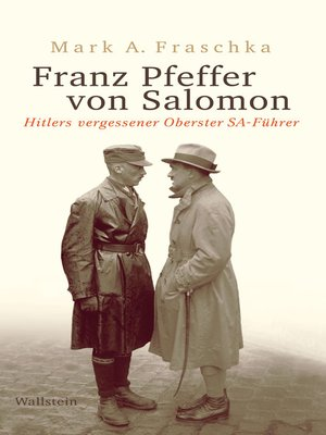 cover image of Franz Pfeffer von Salomon