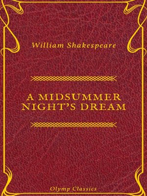 cover image of A Midsummer Night's Dream ( Olymp Classics)