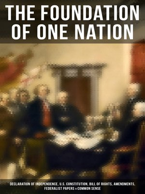 cover image of The Foundation of one Nation