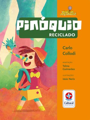 cover image of Pinóquio reciclado