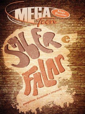 cover image of MegaTeen 13--Saber e Falar