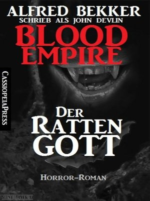 cover image of Blood Empire--Der Rattengott