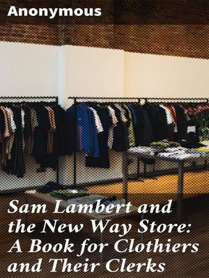 cover image of Sam Lambert and the New Way Store