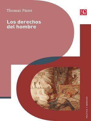 cover image of Los derechos del hombre
