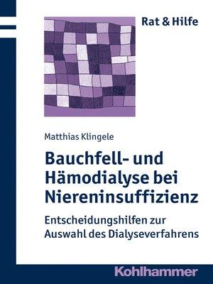 cover image of Bauchfell- und Hämodialyse bei Niereninsuffizienz