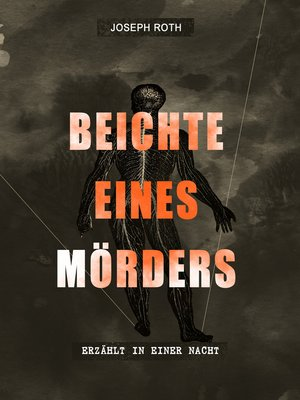 cover image of Beichte eines Mörders, erzählt in einer Nacht