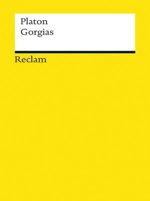 cover image of Gorgias