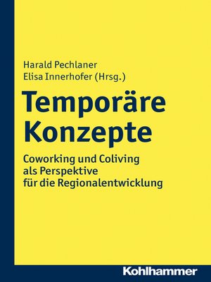 cover image of Temporäre Konzepte