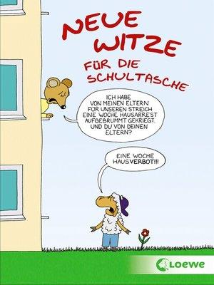 cover image of Neue Witze für die Schultasche