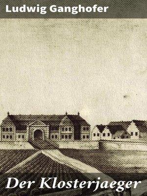 cover image of Der Klosterjaeger