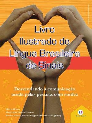 cover image of Livro ilustrado de língua brasileira de sinais Volume2