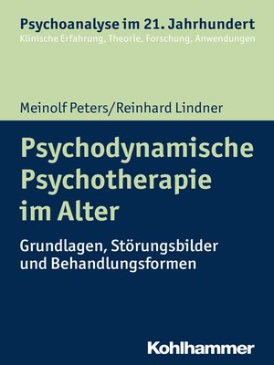 cover image of Psychodynamische Psychotherapie im Alter