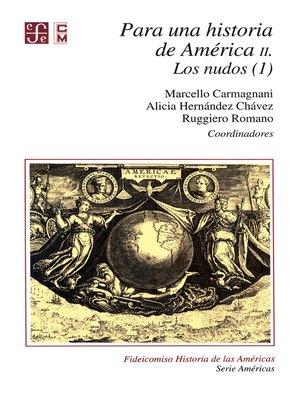 cover image of Para una historia de América, II.