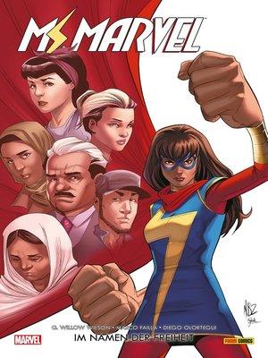 cover image of Ms. Marvel (2016) 4--Im Namen der Freiheit