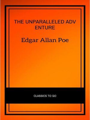 cover image of The Unparalleled Adventure of One Hans Pfaall