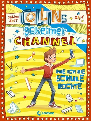 cover image of Collins geheimer Channel 2--Wie ich die Schule rockte