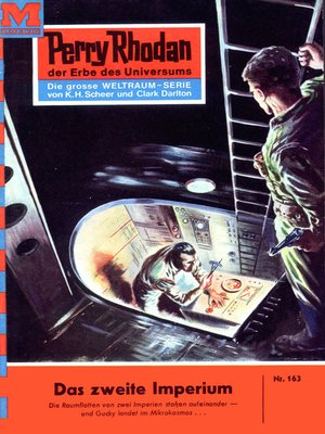 cover image of Perry Rhodan 163