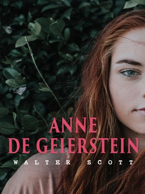 cover image of Anne de Geierstein