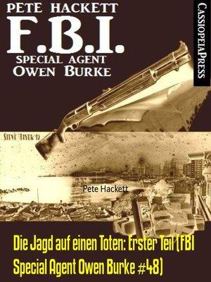 cover image of Die Jagd auf einen Toten