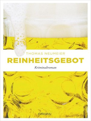 cover image of Reinheitsgebot