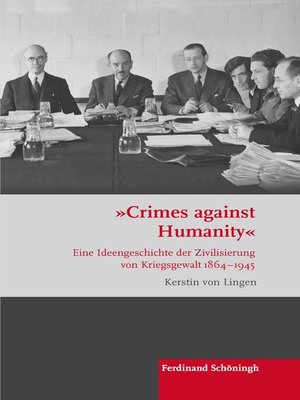 """cover image of """"Crimes against Humanity"""""""