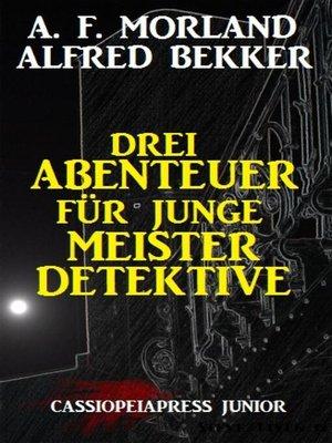 cover image of Drei Abenteuer für junge Meisterdetektive