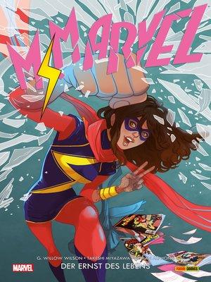 cover image of Ms. Marvel 3--Der Ernst des Lebens