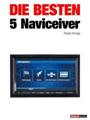 cover image of Die besten 5 Naviceiver