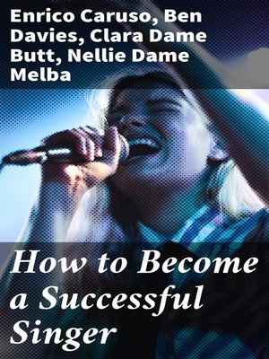 cover image of How to Become a Successful Singer