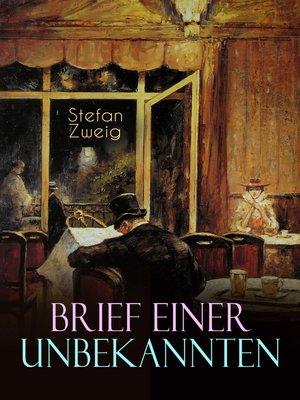 cover image of Brief einer Unbekannten