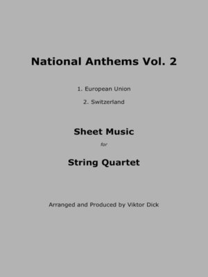 cover image of National Anthems Volume 2