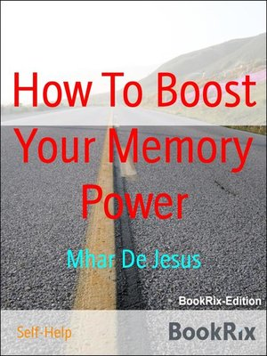 cover image of How to Boost Your Memory Power