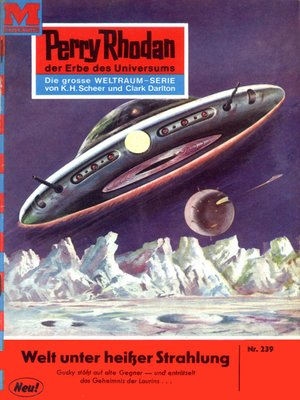 cover image of Perry Rhodan 239
