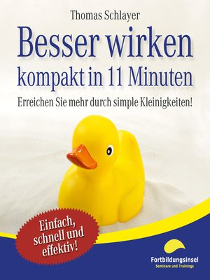cover image of Besser wirken--kompakt in 11 Minuten