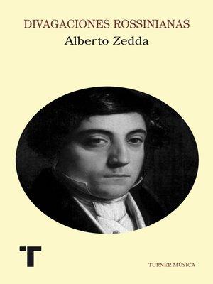 cover image of Divagaciones rossinianas