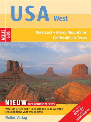 cover image of Nelles Gids USA West
