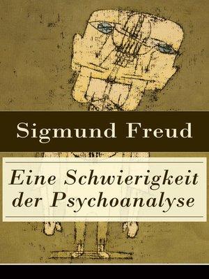 cover image of Eine Schwierigkeit der Psychoanalyse