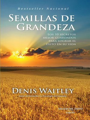 cover image of Semillas de grandeza