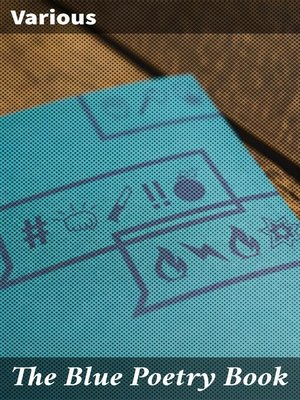 cover image of The Blue Poetry Book