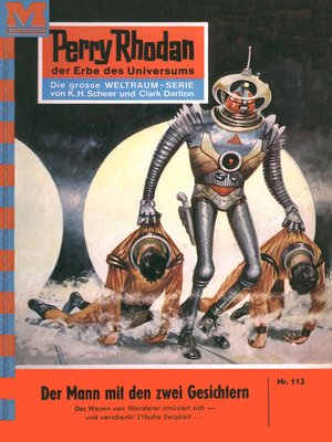 cover image of Perry Rhodan 112