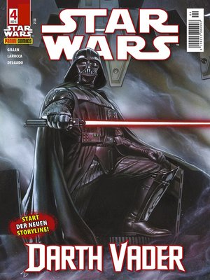 cover image of Star Wars Comicmagazin, Band 4--Vader