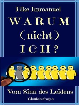 cover image of Warum (nicht) ich?