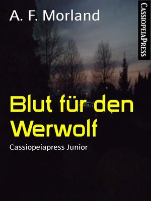 cover image of Blut für den Werwolf