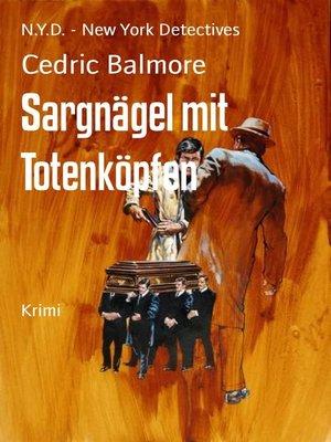 cover image of Sargnägel mit Totenköpfen