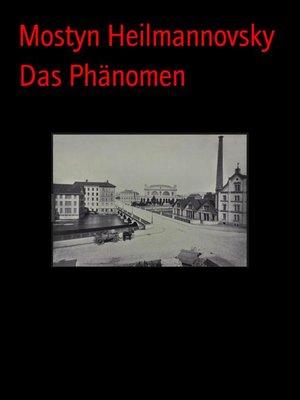 cover image of Das Phänomen
