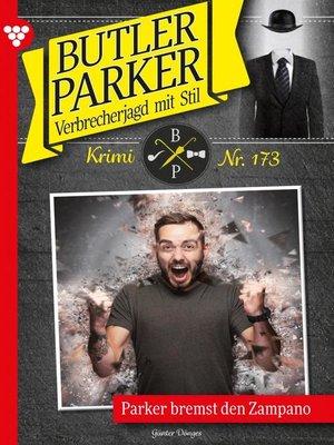 cover image of Butler Parker 173 – Kriminalroman