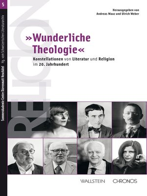 """cover image of »Wunderliche Theologie"""""""